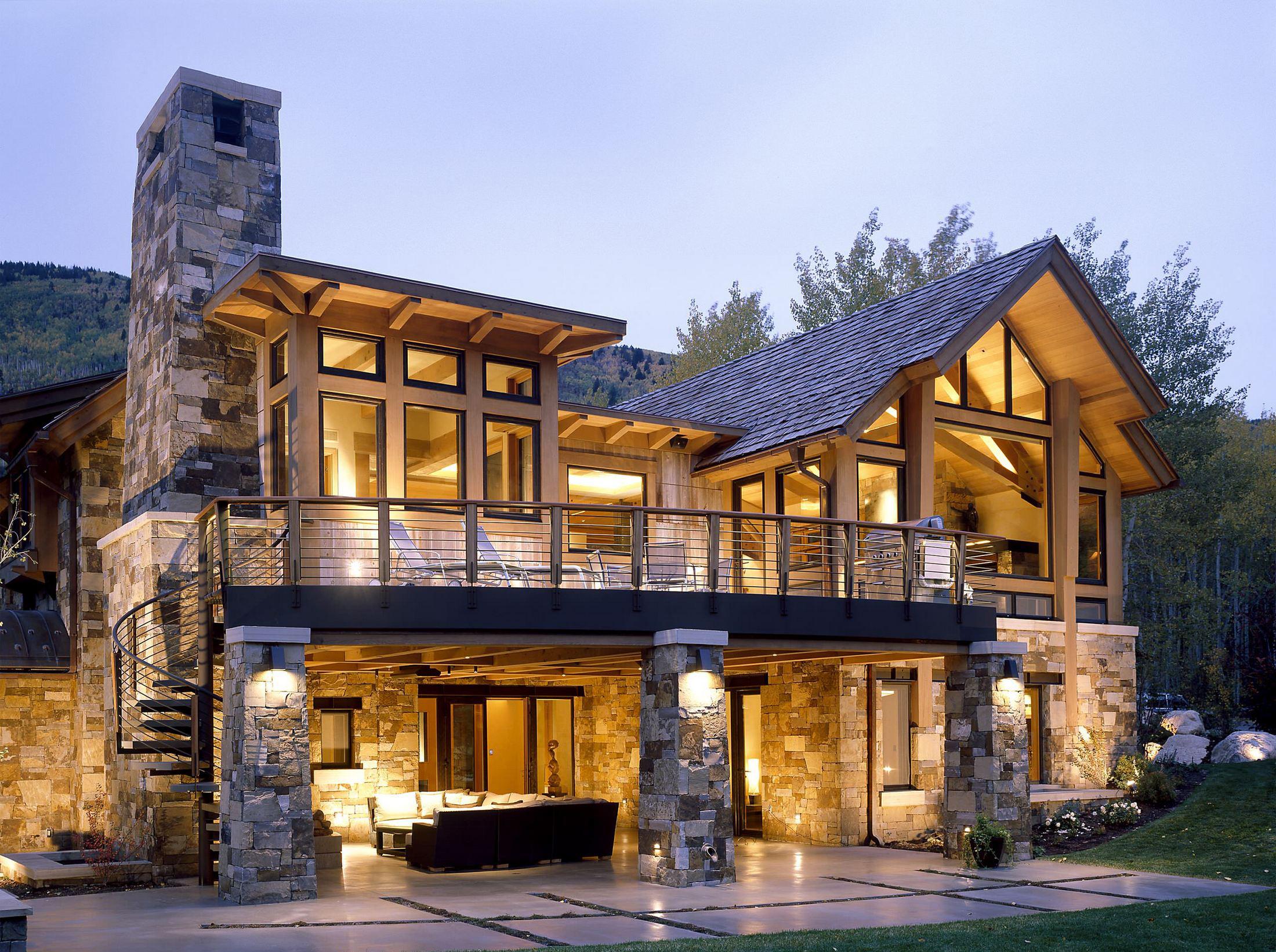 Картинки красивые дом