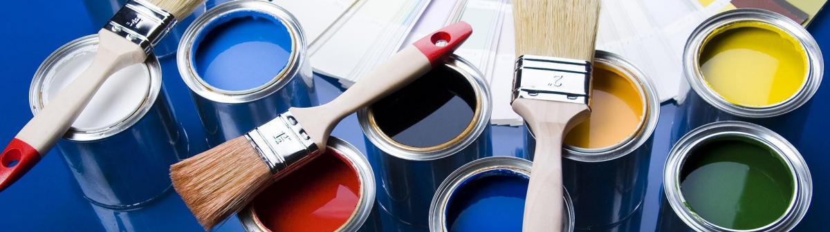 Выбор красок для строительства