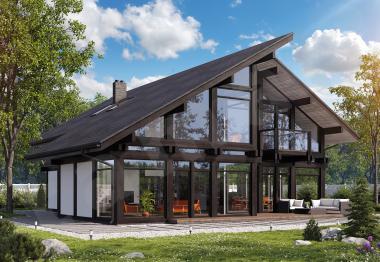 Проект дорогого дома 276 кв.м.