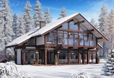 Проект дорогого дома до 325 кв.м.