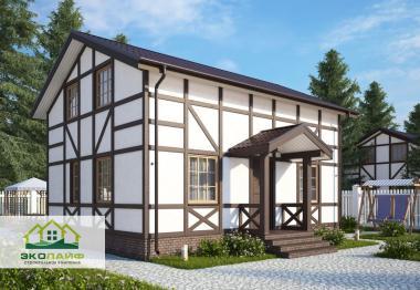 Проект каркасного дома до 120 кв.м.
