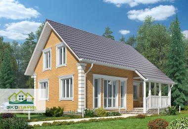 Проект дома из газобетона до 145 кв.м.