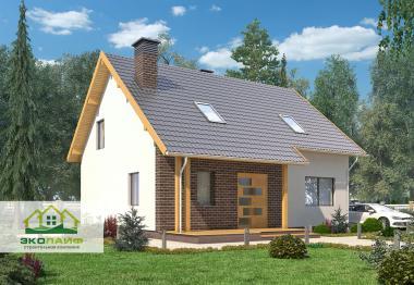Проект дома из газобетона 150 кв.м.