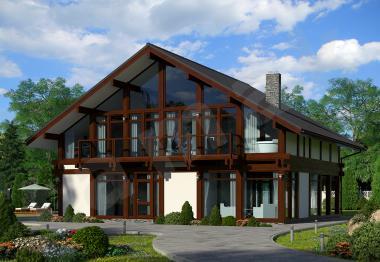 Проект элитного дома от 315 кв.м.
