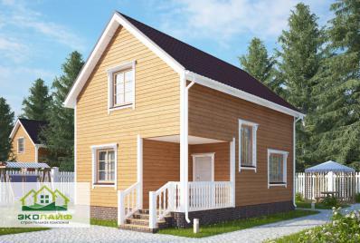 Проект дома из каркаса 94 кв.м.