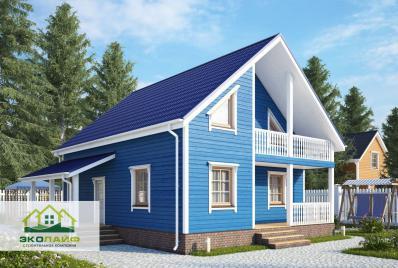 Проект каркасного дома до 140 кв.м.