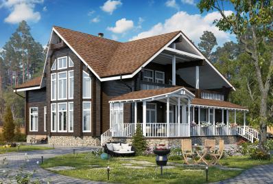 Проект элитного дома до 450 кв.м.