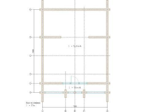 Планировка дома из бревна до 115 кв.м.