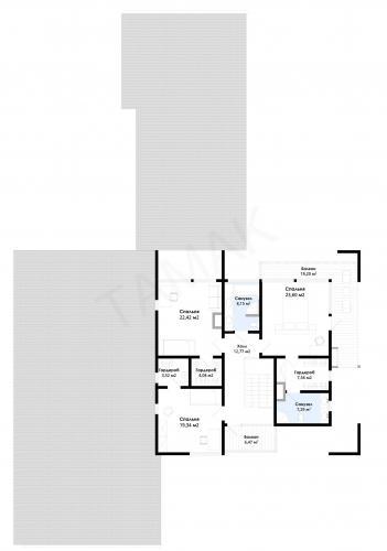Планировка элитного дома до 575 кв.м.