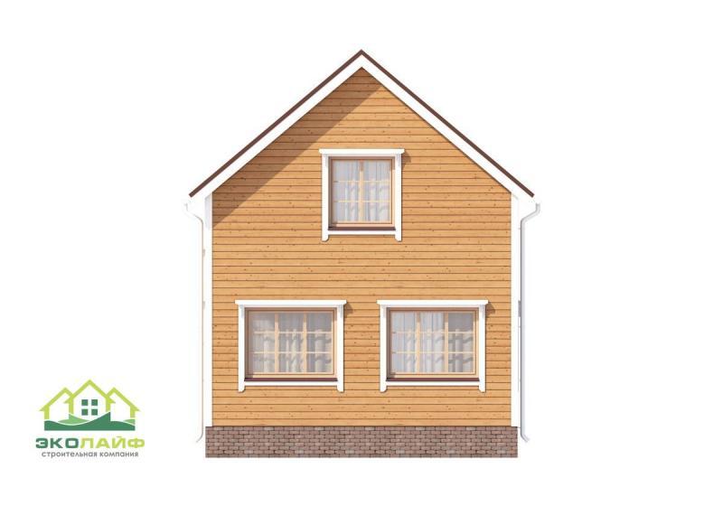 Проект каркасного дома до 95 кв.м.