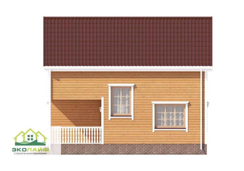 Проект каркасного дома 94 кв.м.