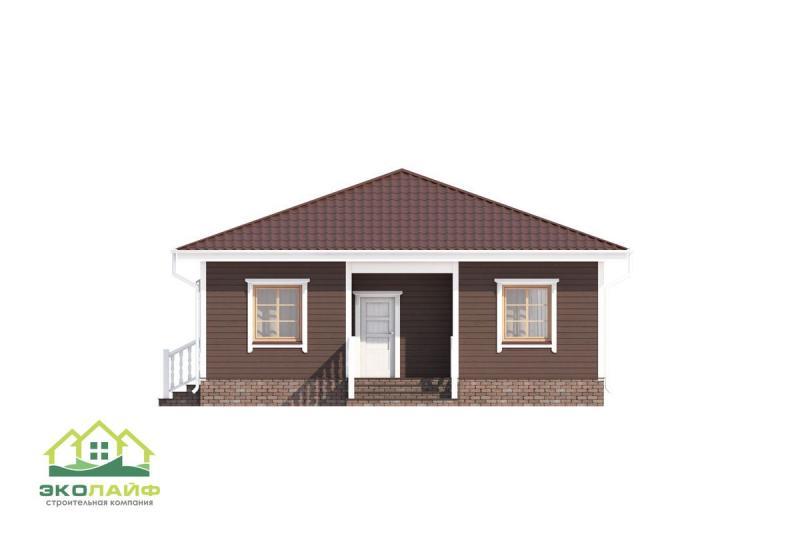 Проект дома из каркаса от 95 кв.м.