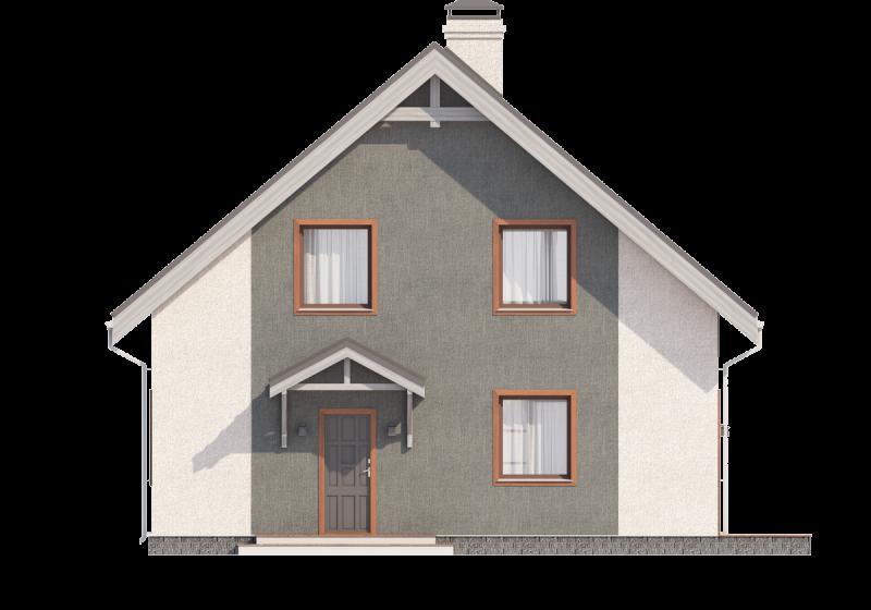 Проект дома из блоков до 135 кв.м.