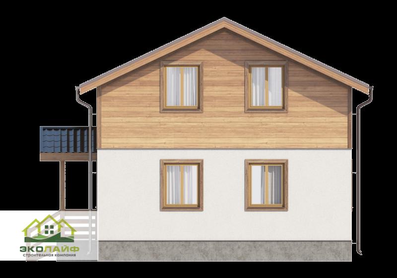 Проект дома из блоков 119 кв.м