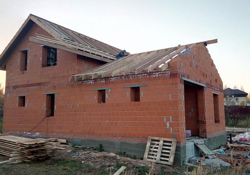 Дом из теплой керамики 158 кв. м.