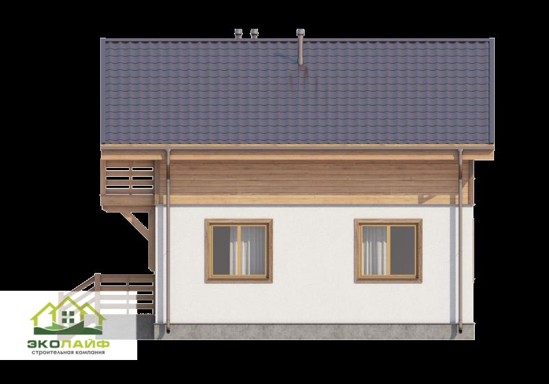 Проект дома из блоков 150 кв.м