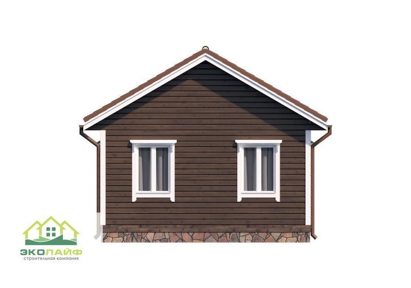Проект дома по каркасной технологии до 40 кв.м.