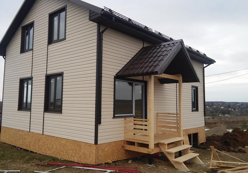 Каркасный дом по проекту КД-119
