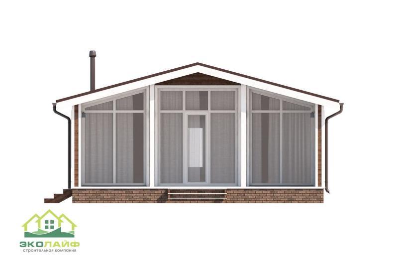 Проект каркасного дома от 70 кв.м.
