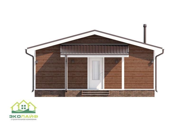 Проект каркасного дома до 75 кв.м.