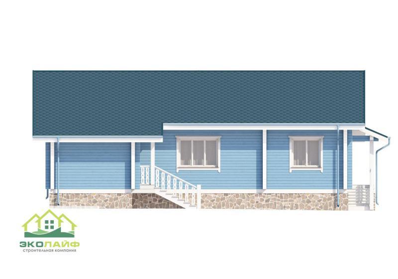 Проект дома из бруса до 170 кв.м.