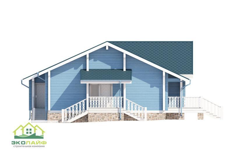 Проект дома из бруса от 170 кв.м.