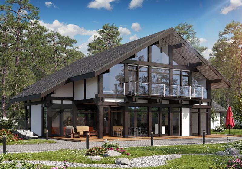 Проект дорогого дома от 300 кв.м.