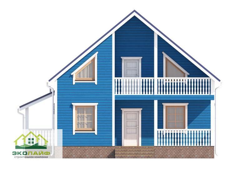 Проект каркасного дома от 140 кв.м.