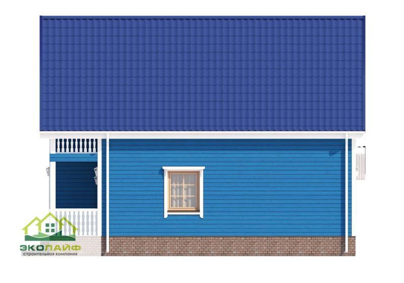 Проект каркасного дома до 145 кв.м.