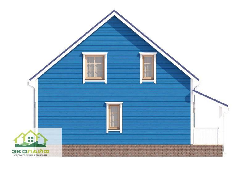 Проект дома из каркаса до 145 кв.м.