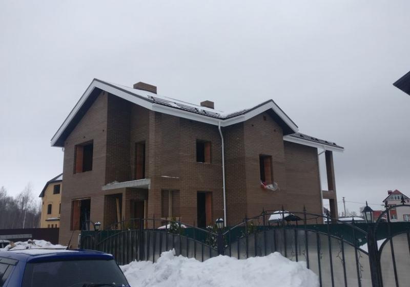 Кирпичный дом 218 кв.м.