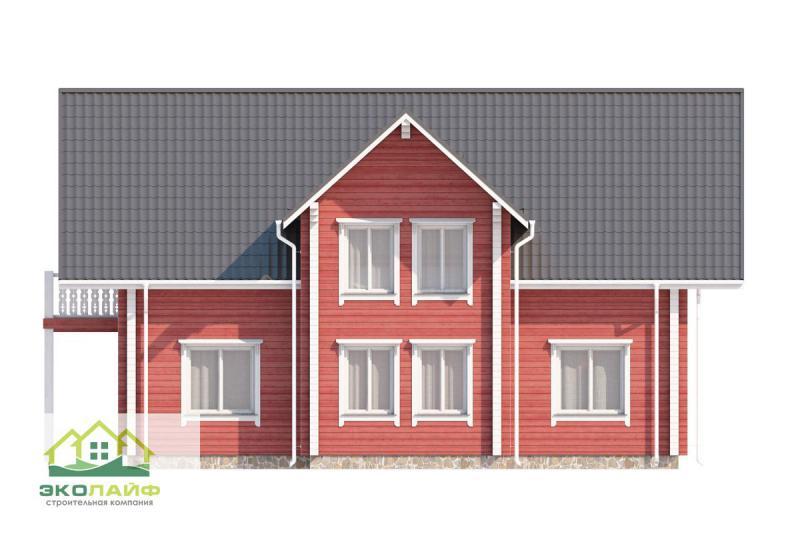 Проект дома из бруса до 200 кв.м