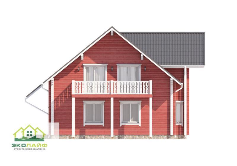 Проект дома из бруса от 200 кв.м
