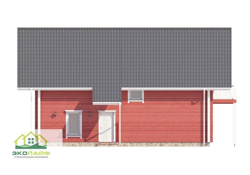Проект дома из бруса до 210 кв.м