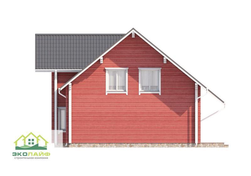 Проект дома из бруса до 220 кв.м