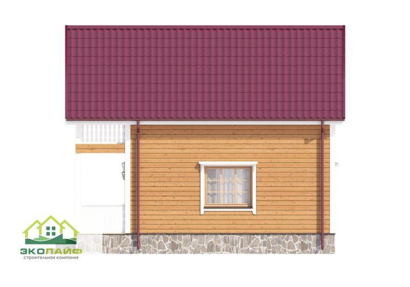 Проект каркасного дома от 75 кв.м.