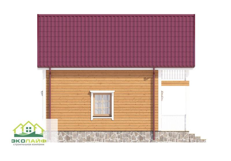 Проект дома из каркаса до 80 кв.м.