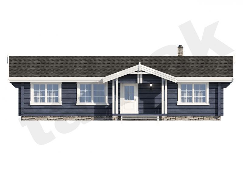 Проект дома из бруса 100 кв.м