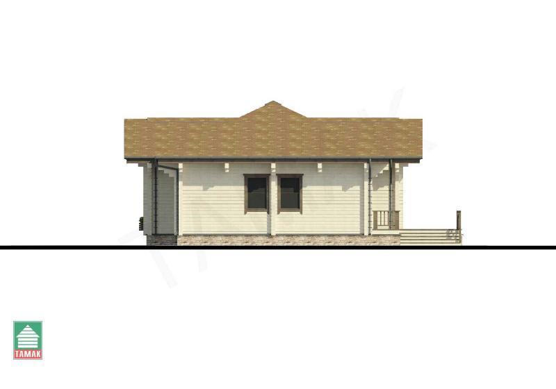 Проект дома из клееного бруса от 160 кв.м.