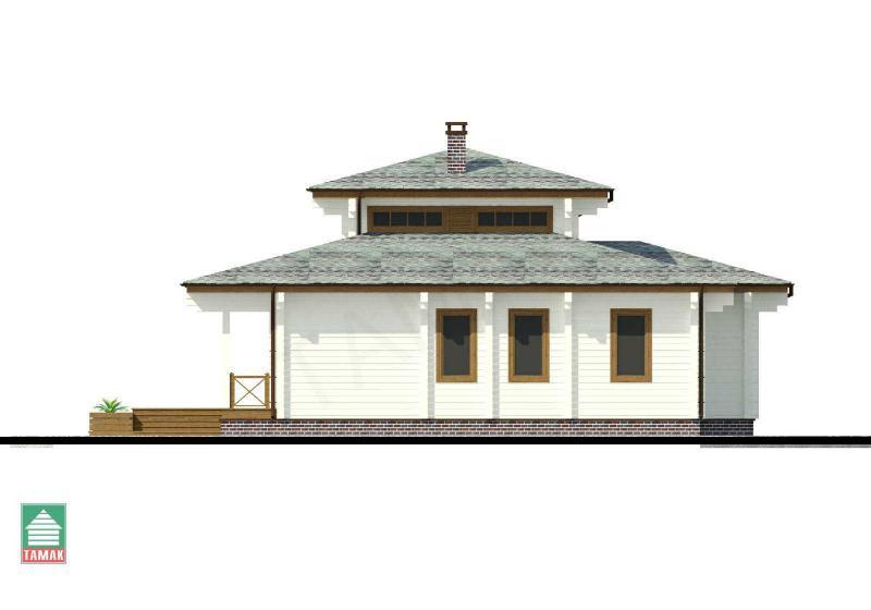 Проект дома из клееного бруса до 145 кв.м.