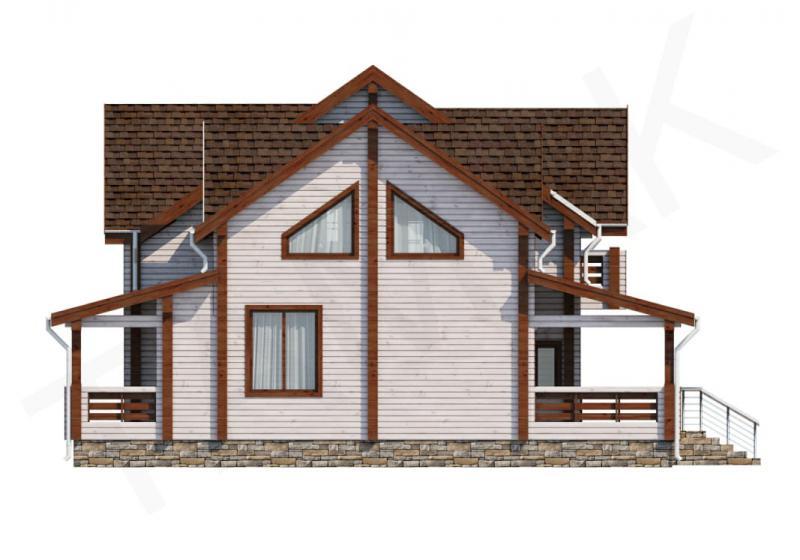 Проект дома из бруса до 195 кв.м