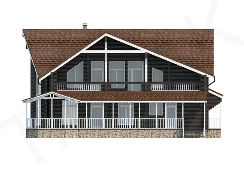 Проект элитного дома от 440 кв.м.