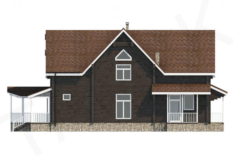 Проект дорогого дома от 440 кв.м.