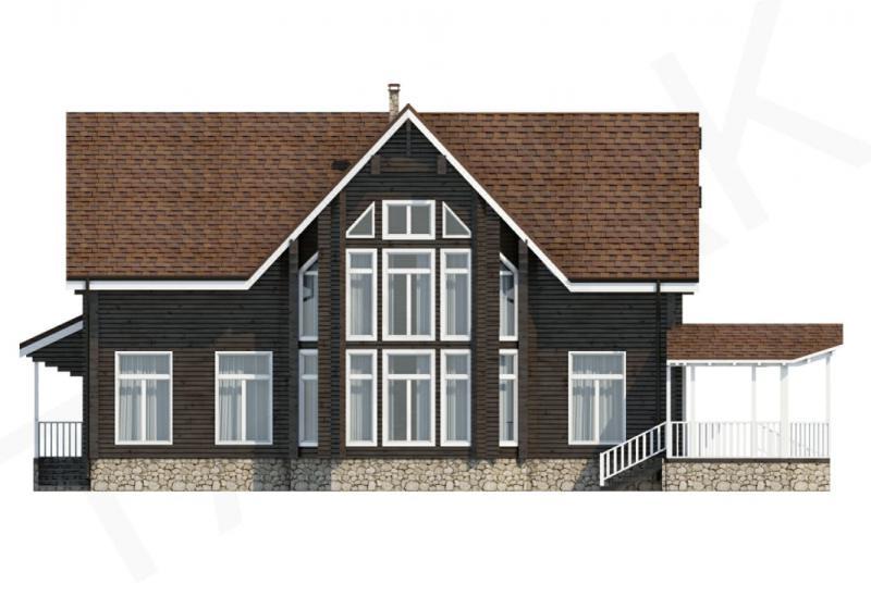 Проект дорогого дома до 450 кв.м.