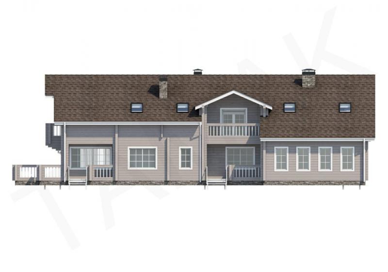 Проект элитного дома от 490 кв.м.