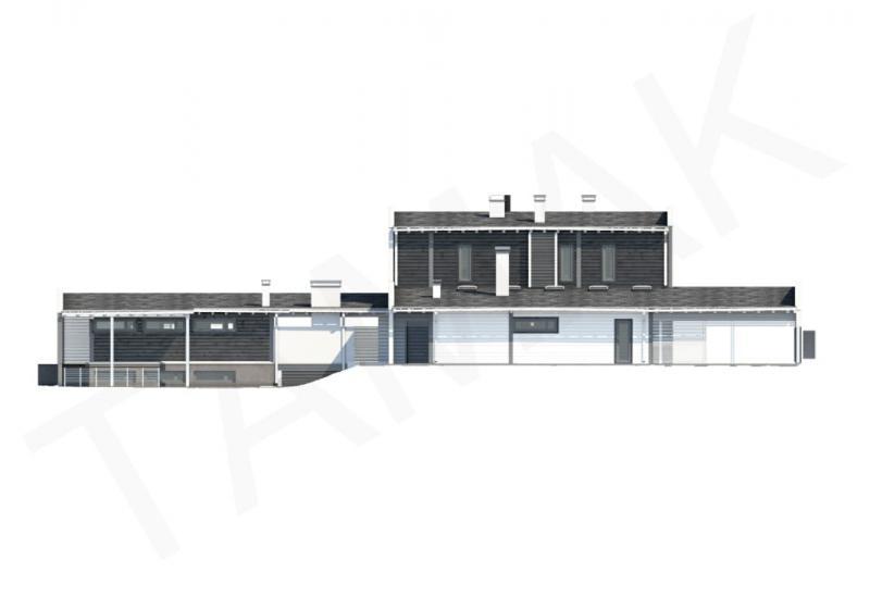 Проект дорогого коттеджа от 570 кв.м.