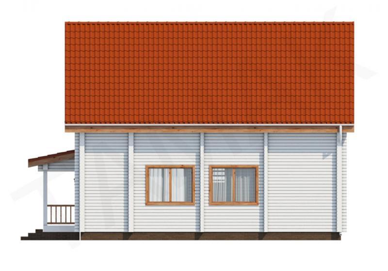 Проект дома из бруса до 150 кв.м