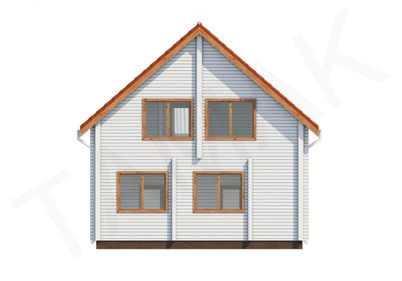 Проект дома из бруса от 150 кв.м