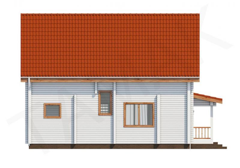 Проект дома из бруса от 140 кв.м
