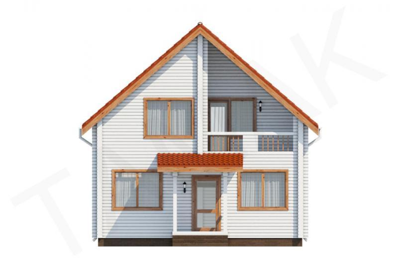 Проект дома из бруса от 145 кв.м